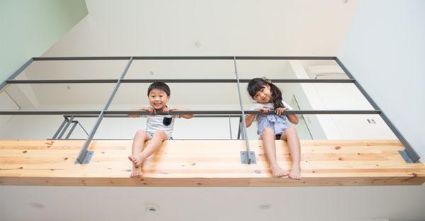 沖縄のローコスト住宅でおしゃれな暮らし☆吹き抜けのある家