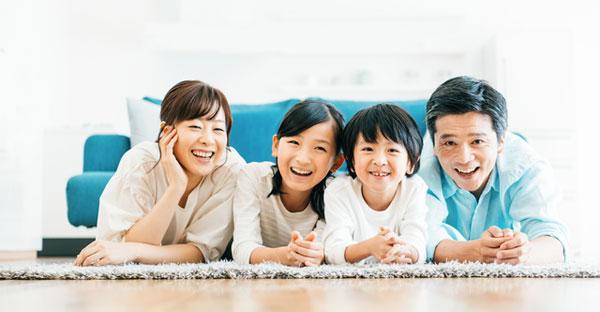 沖縄の注文住宅で家族が仲良くなる家☆勉強がはかどる家